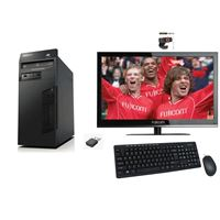 "מחשב נייח Lenovo ThinkCentre M72e + מסך ""22 חדש"