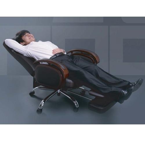 בלתי רגיל כיסא מנהלים מתכוונן מעור בעל מערכת מסאז' מובנהכיסא מנהלים מתכוונן CI-26