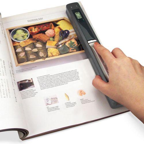 תוספת סורק נייד לתמונות מסמכים כרטיסי ביקור ועוד...סורק נייד לתמונות GD-65