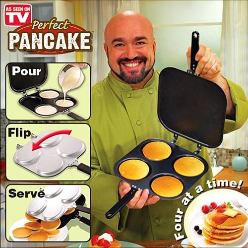 מחבת מחבת להכנת פנקייק Perfect Pancake TVItems