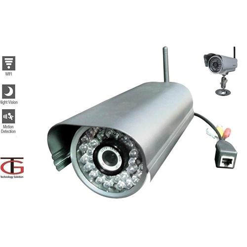 מאוד מצלמת IP אלחוטית לתנאי חוץ כולל WI-FI גרנדטק 187677- P1000 XX-95