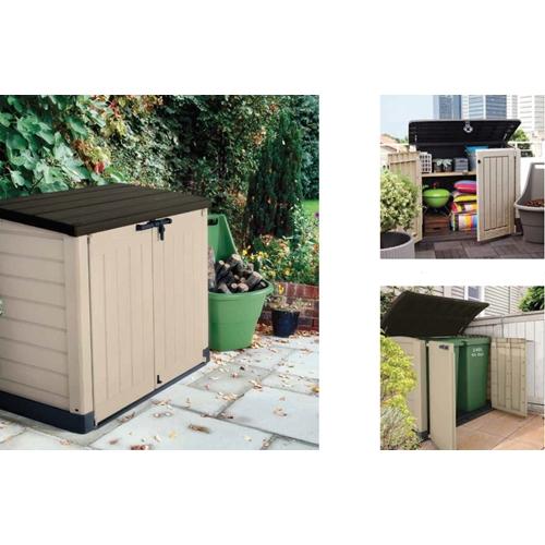 מדהים מחסן גינה מבית כתר דגם 30 Woodland כתר פלסטיק 218590- P1000 PH-24