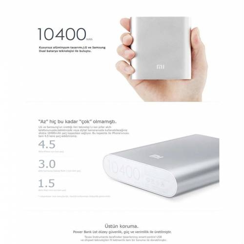 POWER BANK XIAOMI10000 Xiaomi