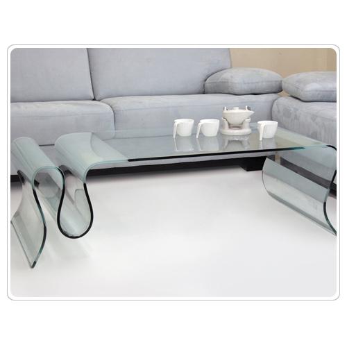בנפט שולחן זכוכית לסלון מעוצב מלבני מבית KHL דגם C851 133951- P1000 EZ-89