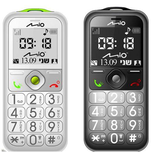 מעולה טלפון סלולרי למבוגרים מבית mio דגם S500 MIO 165231- P1000 RT-99