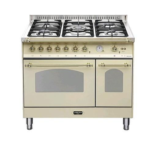 מודרני תנור אפייה משולב דו תאי בעיצוב כפרי דגם RBID96MF 173275- P1000 UU-81