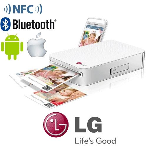 מגניב ביותר מדפסת תמונות חכמה לסמארטפון / טאבלט LG PD233 173828- P1000 JL-94