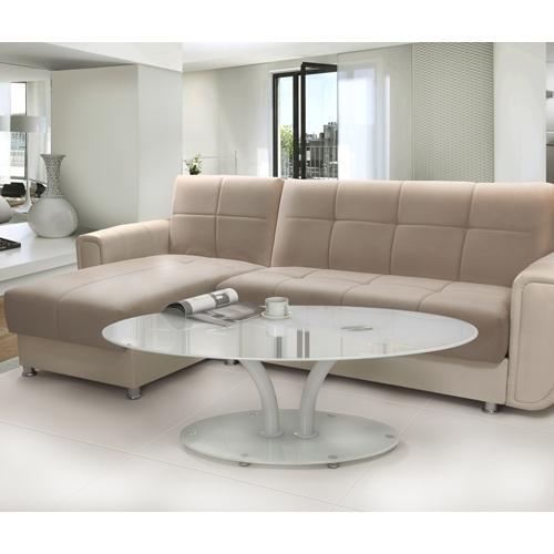 מודרני שולחן קפה לסלון - שילוב מודרני של זכוכית מחוסמתשולחן קפה לסלון XC-13