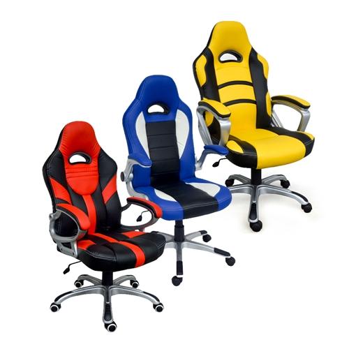 הוראות חדשות כיסא גיימרים מיוחד מעוצב וחדשני ב 3 צבעים לבחירה 213201- P1000 EC-66