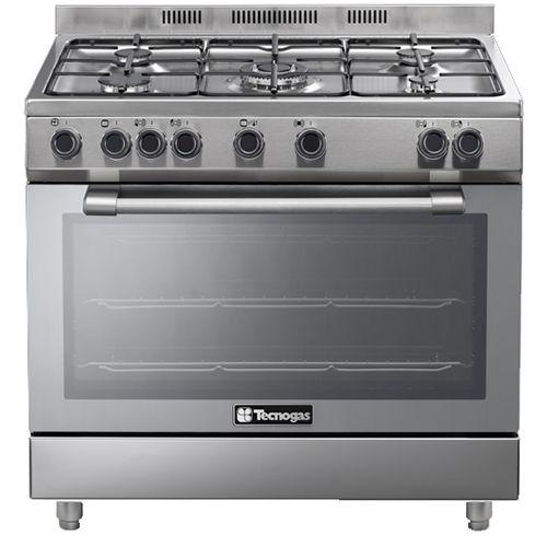 מעולה  תנור אפיה משולב רחב בגימור נירוסטה Tecnogasתנור אפיה משולב רחב HH-85