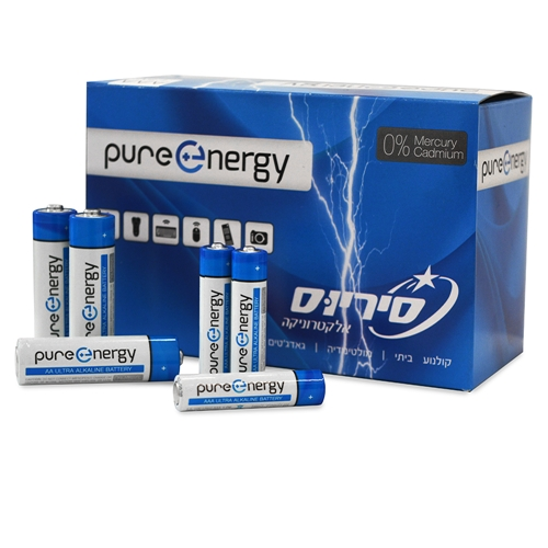 סוללות pure energy peb100 PURE ENERGY