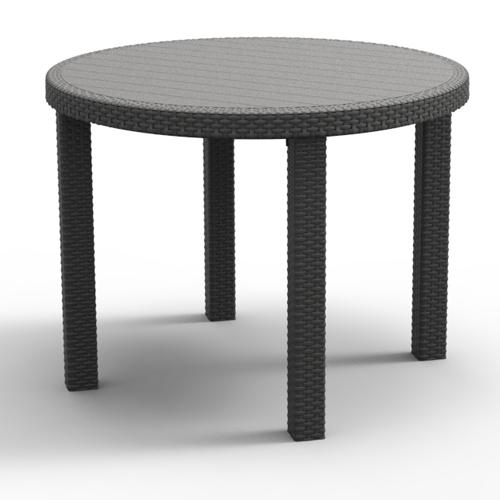 בלתי רגיל שולחן פלסטיק 96 עגול מבית כתר פלסטיק כתר פלסטיק 219102- P1000 BI-42