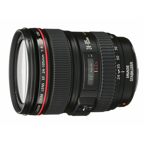 עדשת קנון למצלמת DSLR 24-105mm f/4 L IS USM