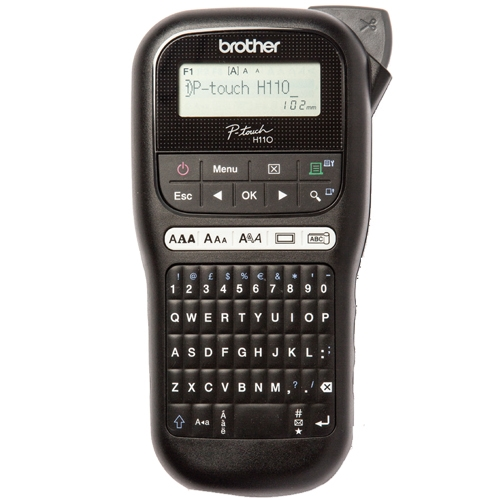 בנפט מדפסת מדבקה ניידת Brother דגם P-Touch P-TH110 246440- P1000 LU-71
