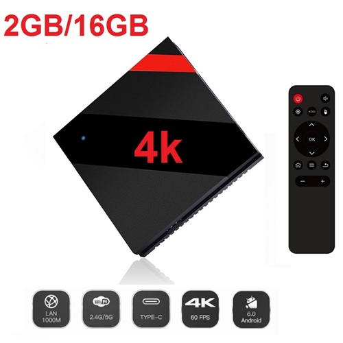 סטרימר ANDROID TV BOX 4K ULTRA