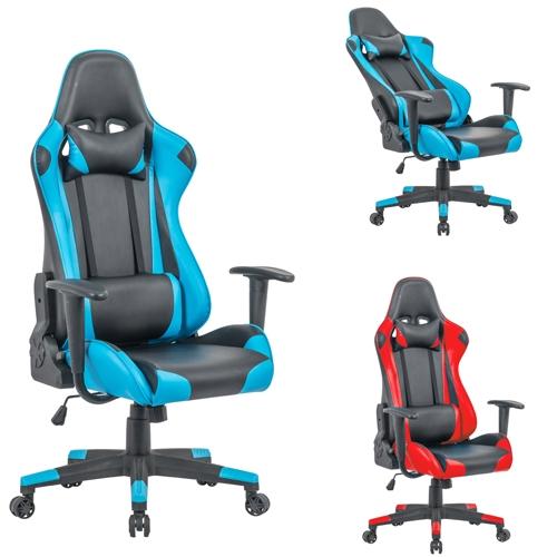 מתוחכם כיסא גיימרים ארגונומי יוקרתי דגם מארוול מבית HOMAX 306058- P1000 IU-17