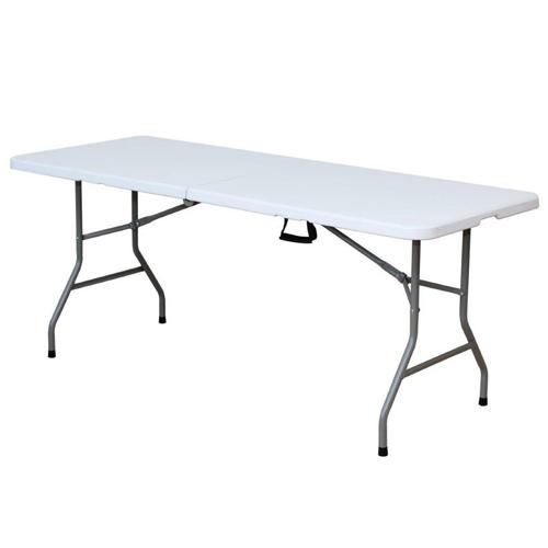 שולחן מתקפל איכותי מפלסטיק קשיח 1.8 מטר