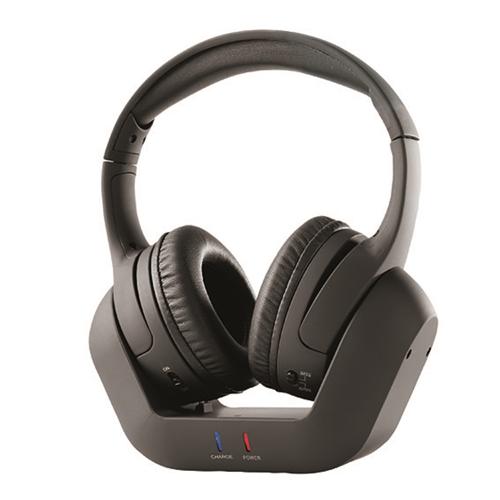 אוזניות TV אלחוטיות + בסיס טעינה GPLUS