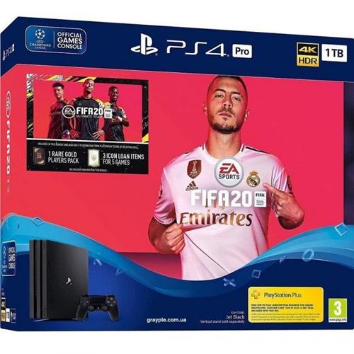 קונסולת PlayStation 4 Pro + משחק FIFA20